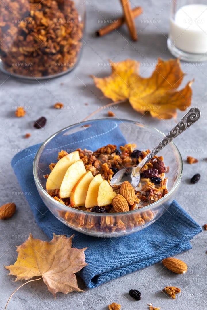 An Autumn Breakfast: Stock Photos