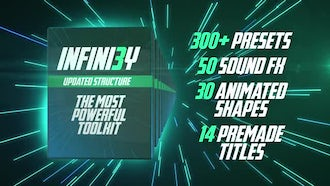 Infini3y. The Most Powerful Toolkit: Premiere Pro Templates