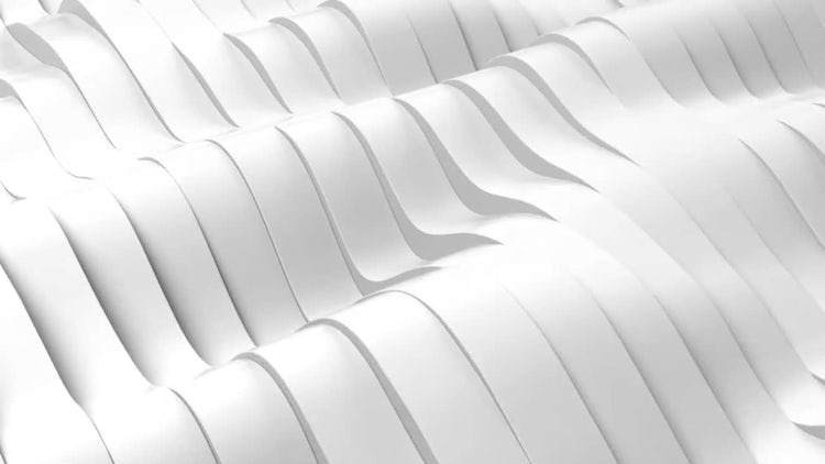Wavy Band Background: Motion Graphics