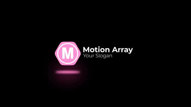 Minimal Shape Logo Reveal: After Effects Templates