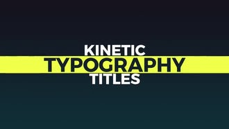 Minimal Animated Titles: Premiere Pro Templates
