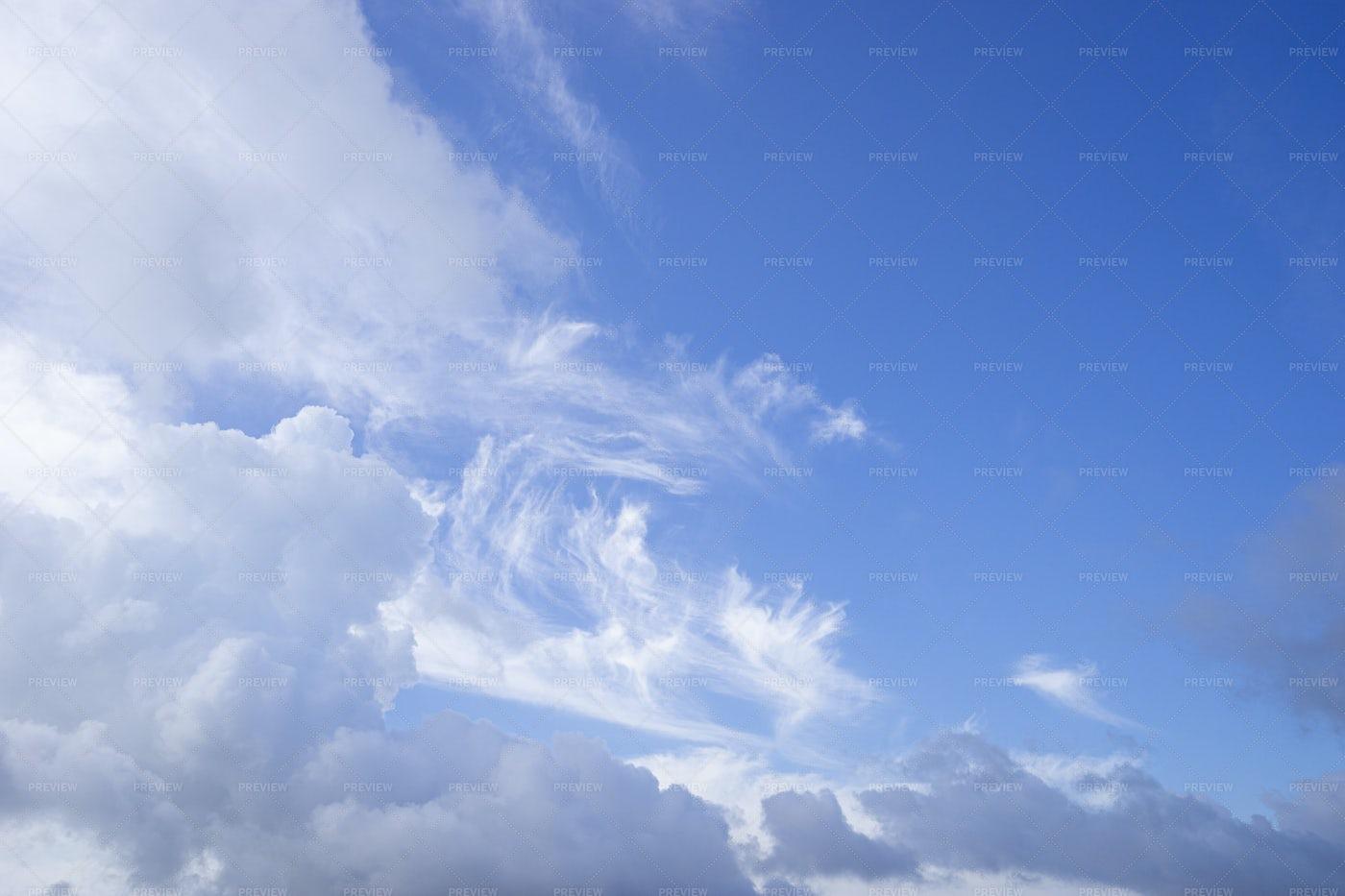 Wisps Of Cloud: Stock Photos