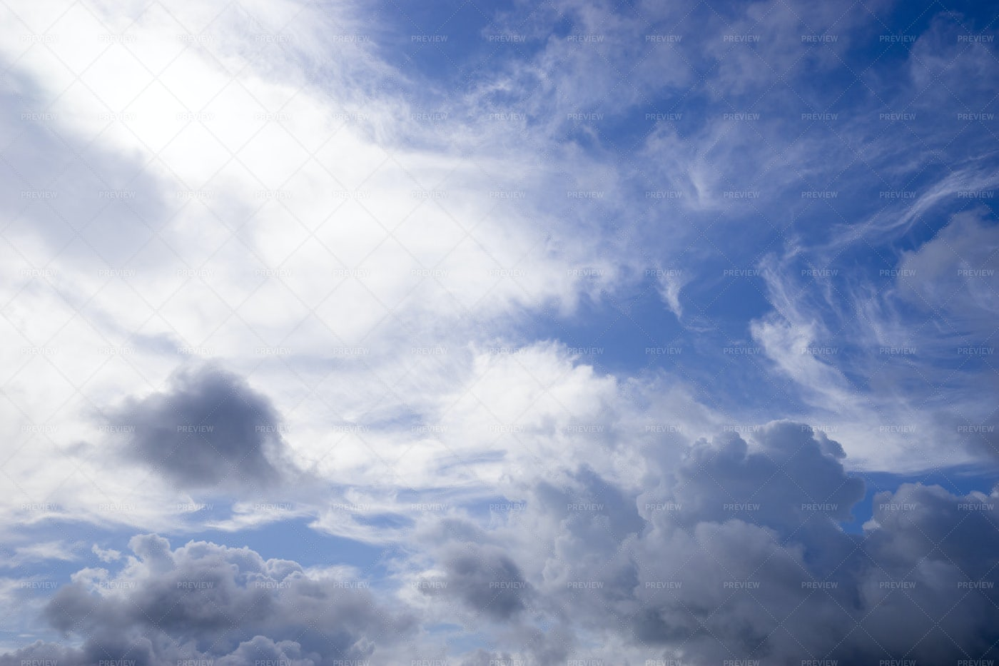Clouds In Blue Sky: Stock Photos