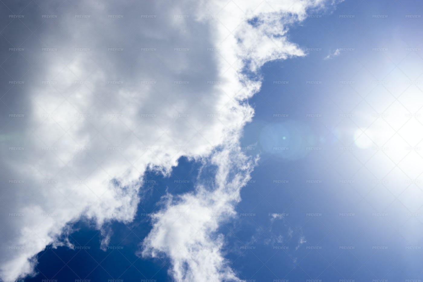 Cloud In Sunlight: Stock Photos