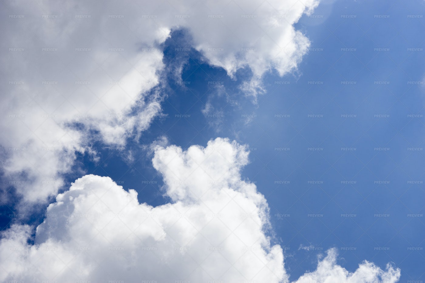 Clouds In The Blue Sky: Stock Photos