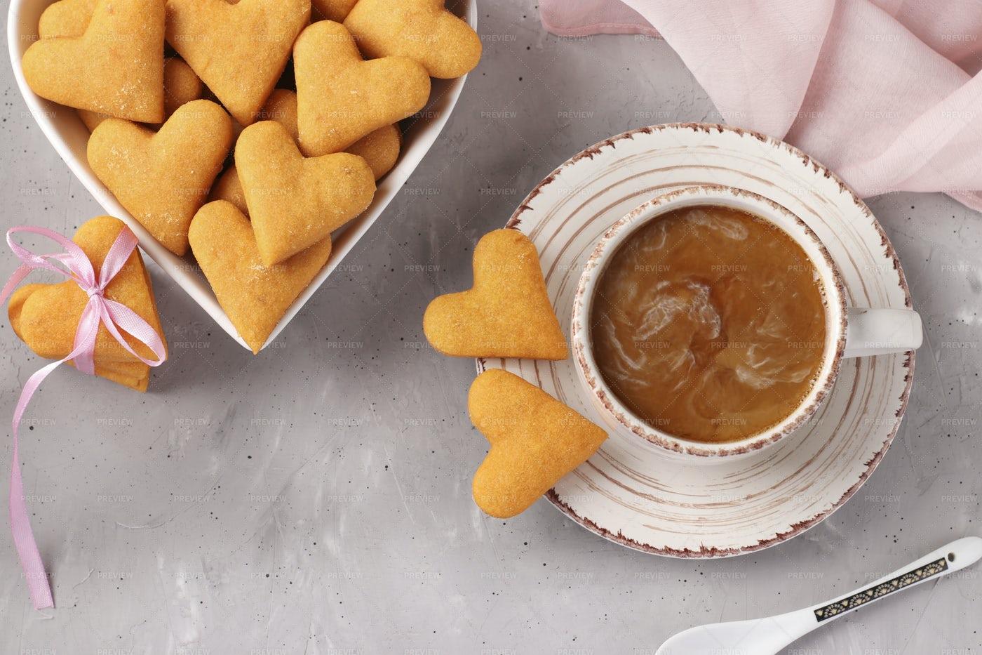 Cookies And Tea: Stock Photos