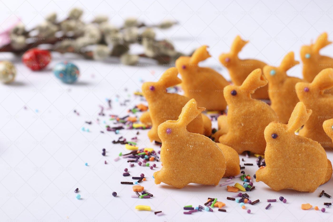 Easter Gingerbread: Stock Photos