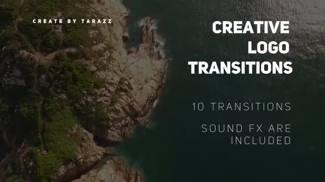 Creative Logo Transitions: Premiere Pro Templates