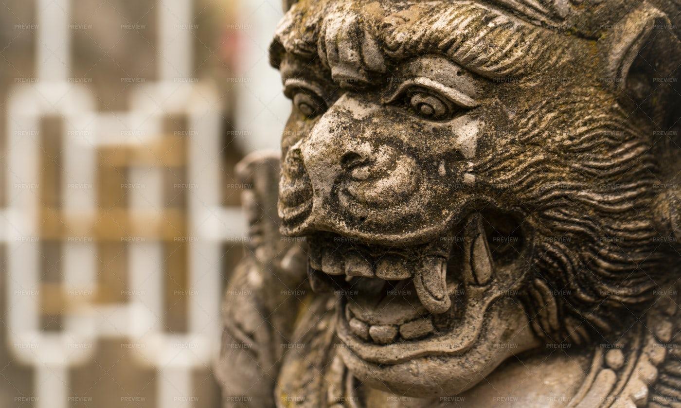 Statue In Bali: Stock Photos