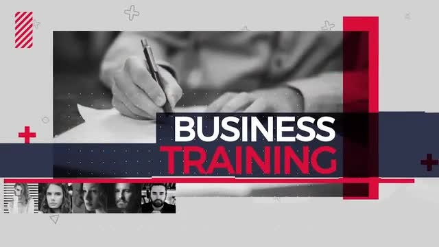 Business Training Promo: After Effects Templates
