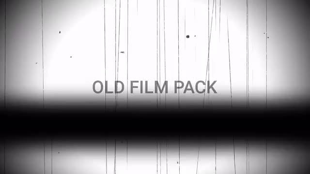Old Film Pack: Stock Motion Graphics