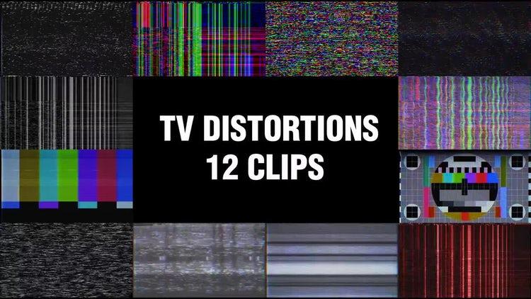 TV Distortions: Motion Graphics