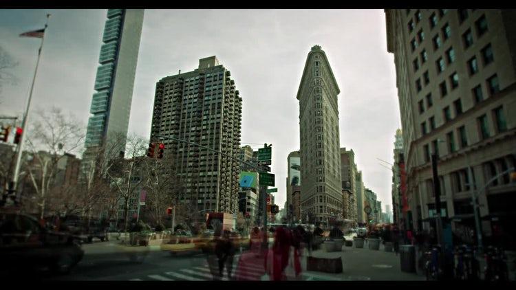 New York CIty Flatiron Building : Stock Video