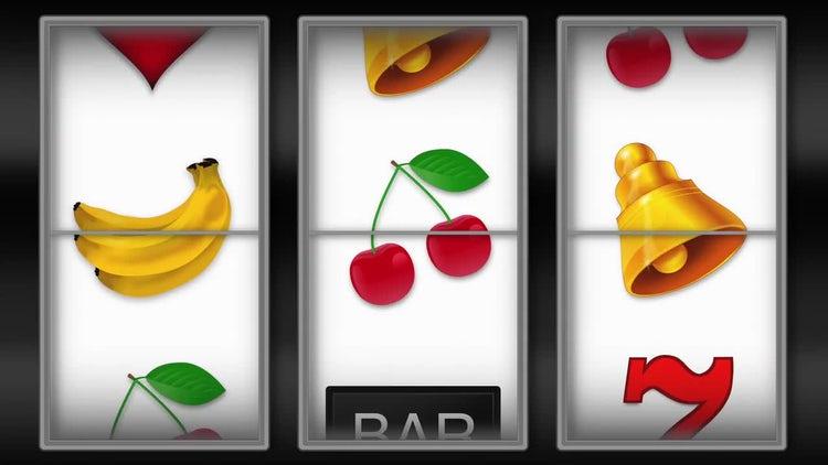 Slot Machine Animation: Motion Graphics