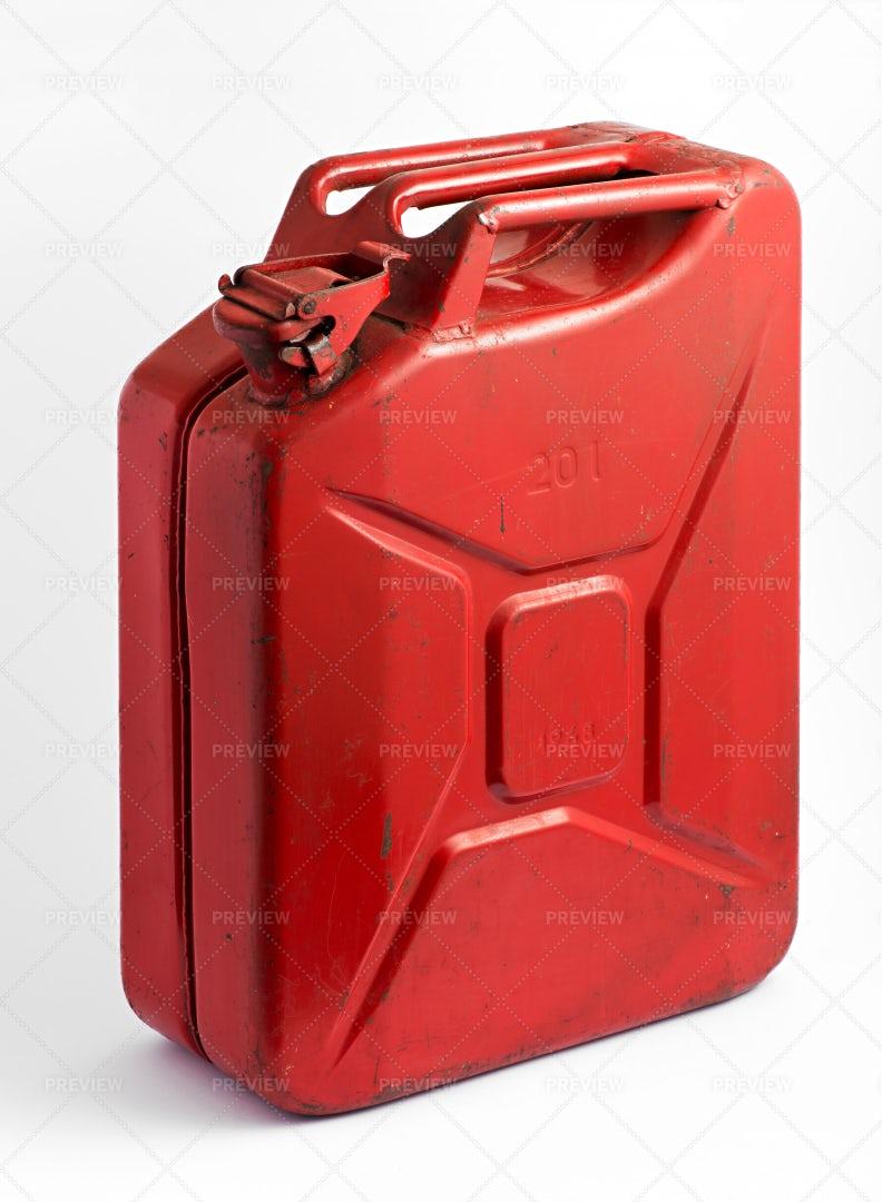 Red Fuel Tank: Stock Photos