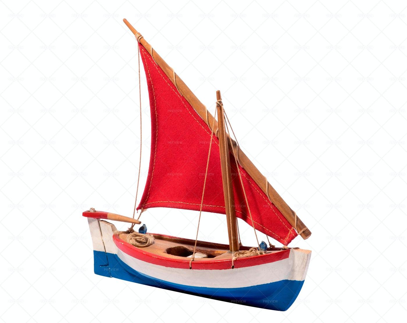 Sailing Boat Toy: Stock Photos