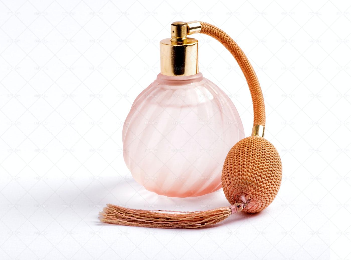 Classic Perfume Bottle: Stock Photos
