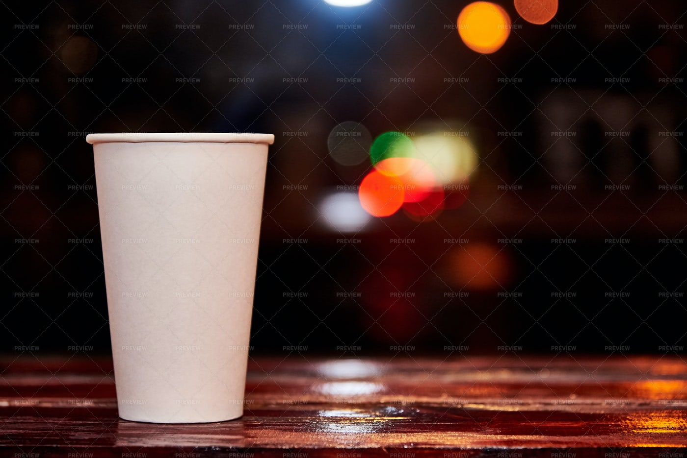 Paper Cup Of Coffee: Stock Photos