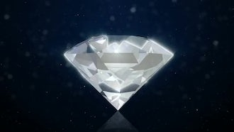 Diamond Background: Motion Graphics