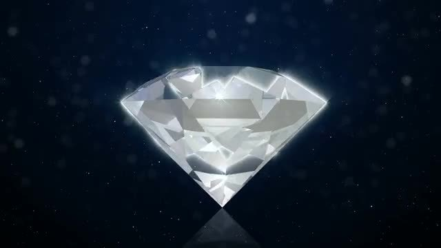 Diamond Background: Stock Motion Graphics