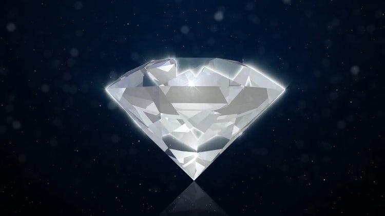 Diamond Background: Motion Graphics