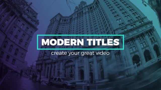 Dynamic Titles: After Effects Templates