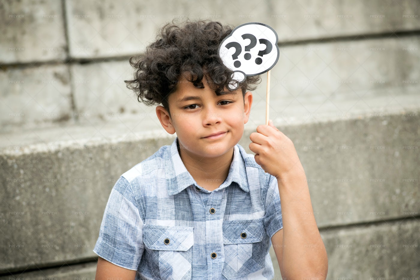 Holding Question Mark Sign: Stock Photos