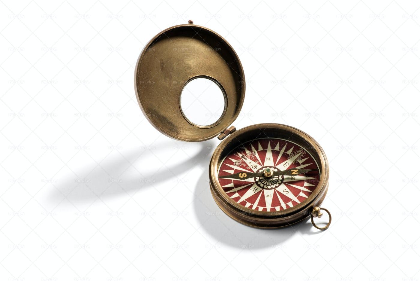 Vintage Compass: Stock Photos