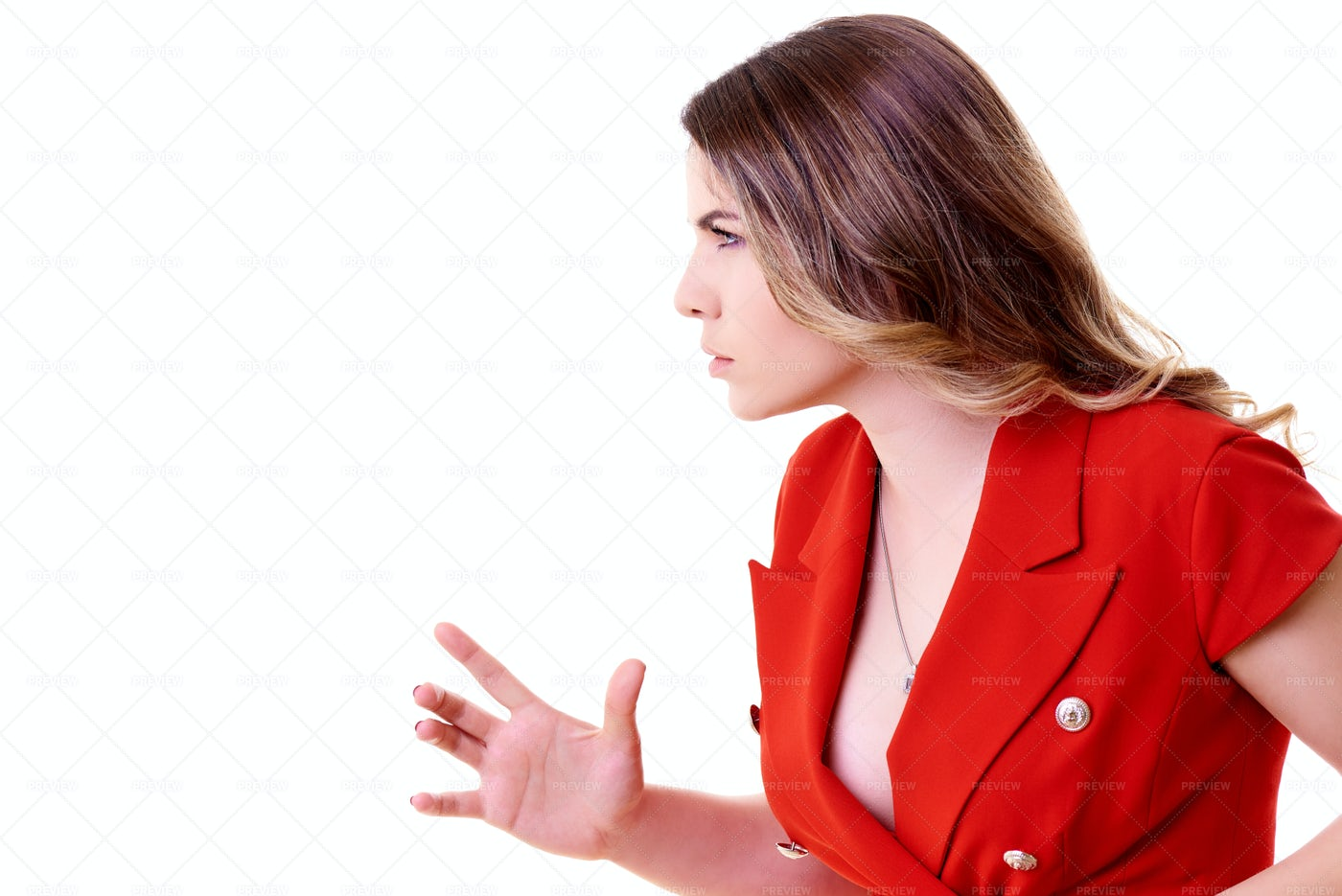 Woman Looking Angry: Stock Photos