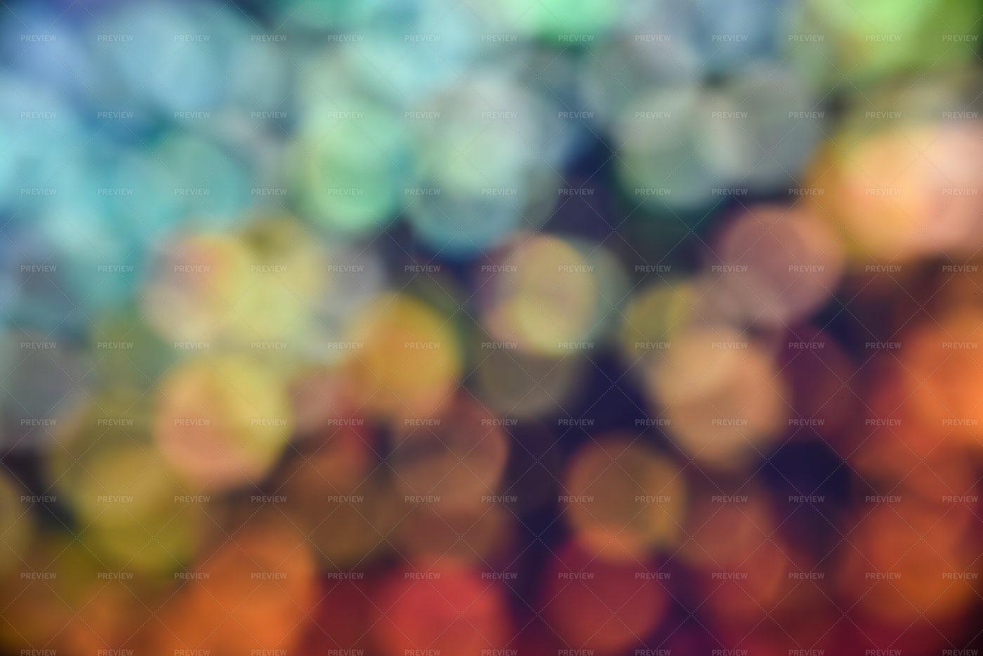 Colorful Bokeh: Stock Photos