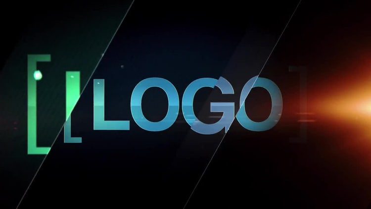 Glass Logo: After Effects Templates
