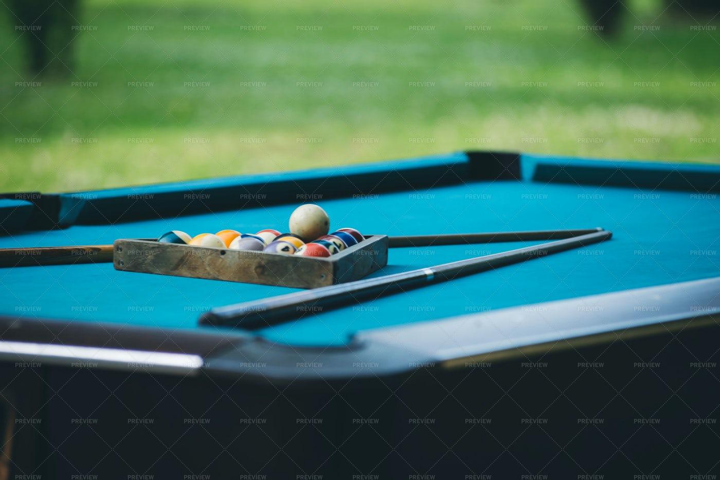 Billiards Table: Stock Photos