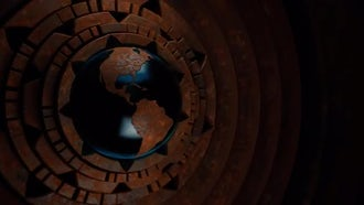 Steampunk Globe V1: Motion Graphics