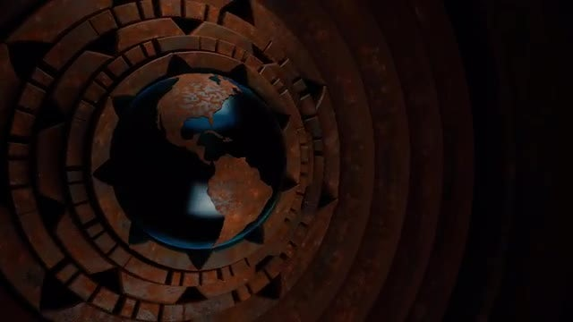 Steampunk Globe V1: Stock Motion Graphics