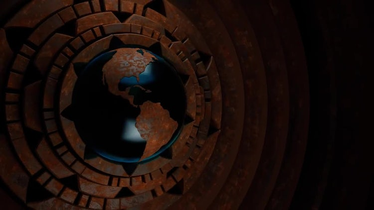 Steampunk Globe V1: Stock Motion Graphics