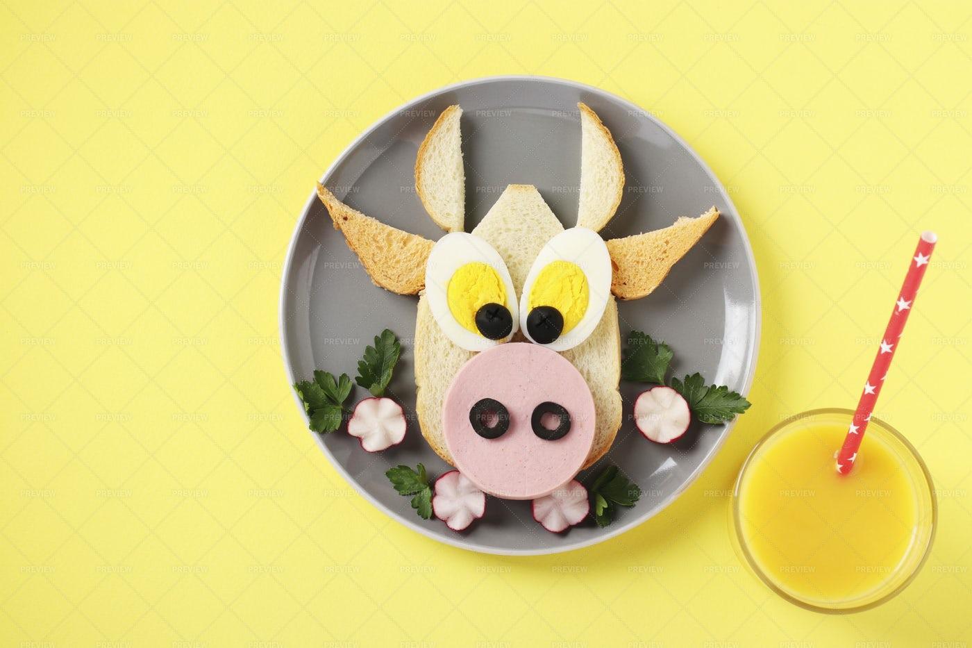 Designed Sandwich: Stock Photos