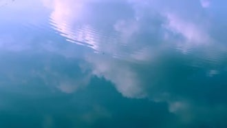 Clouds On The Water: Stock Video