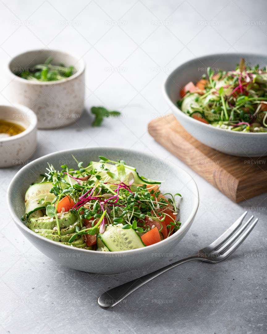 Vegetable Salad: Stock Photos