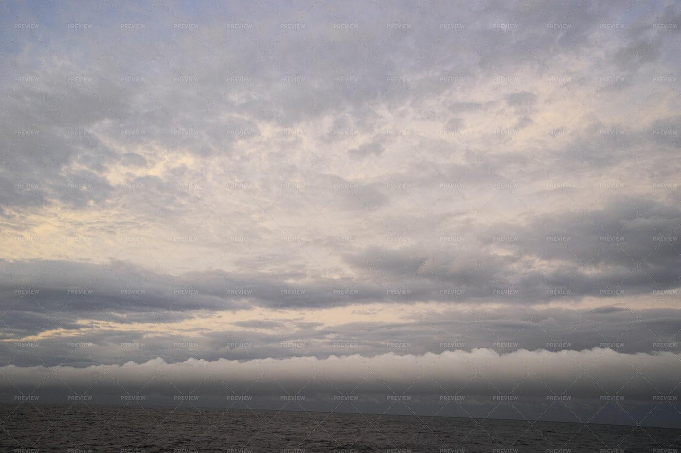 The Vast Cloudy Sky: Stock Photos