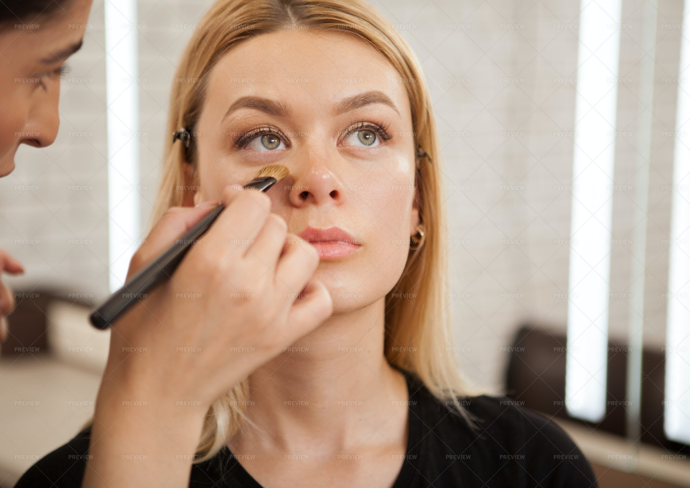 Getting Made Up Professionally: Stock Photos