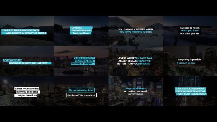 Social Media Titles: After Effects Templates