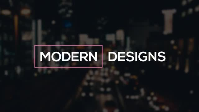 15 Modern Motion Titles: After Effects Templates