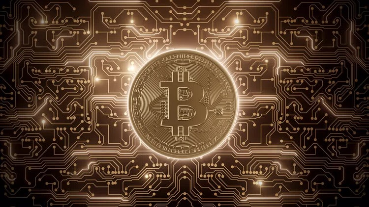 Bitcoin Powers Circuits: Motion Graphics