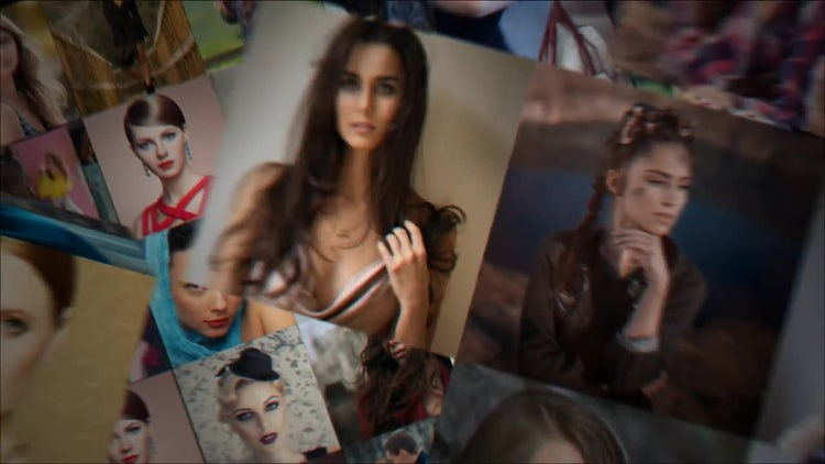 Folding Photo Intro: After Effects Templates