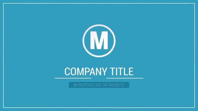 Corporate Logo: After Effects Templates