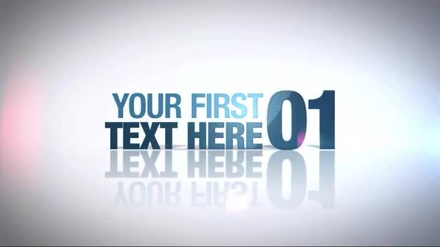 Texting: After Effects Templates