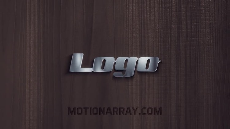 Wood And Steel Elegant Logo: After Effects Templates