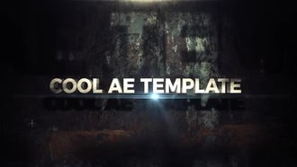 Cinematic Trailer: After Effects Templates