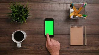 iPhone - Two horizontal scrolls: Stock Footage