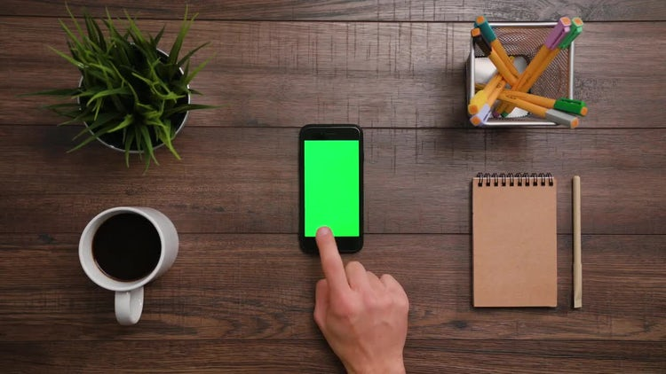 Two Horizontal Scrolls - Iphone: Stock Video